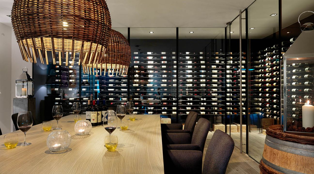 Wine bar wine cellar wine
