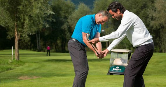 Golf training South Tyrol
