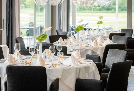Dolomitengolf Suites high-quality restaurant South Tyrol