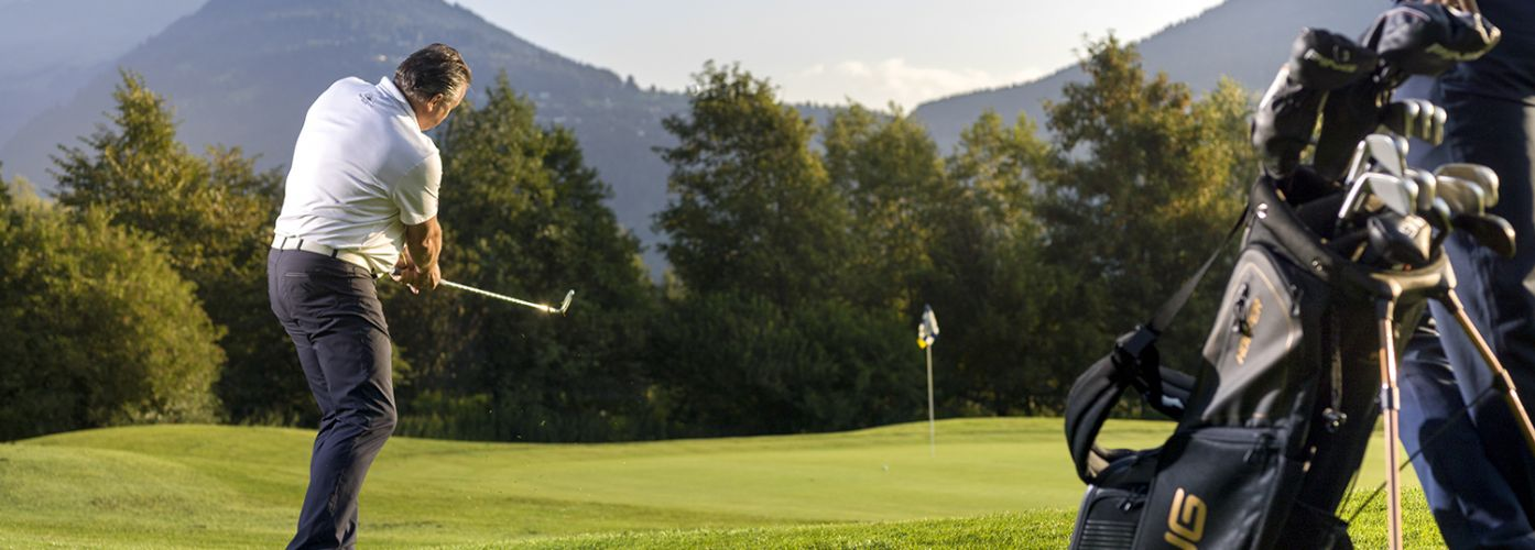 Dolomitengolf Suites golf course South Tyrol