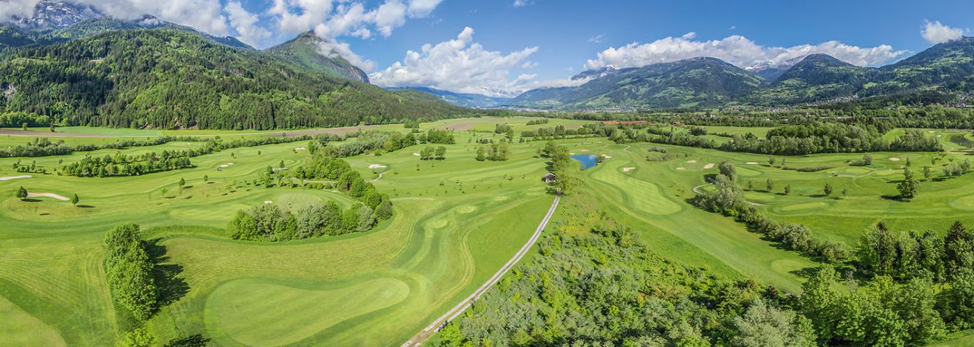 Dolomitengolf Suites golf course mountains South Tyrol